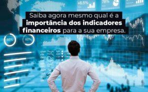 Saiba Agora Mesmo Qual E A Importancia Dos Indicadores Financeiros Para A Sua Empresa Blog 1 - Princípio Contabilidade Digital