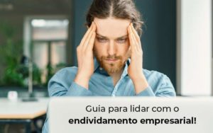 Guia Para Lidar Com O Endividamento Empresarial Blog - Princípio Contabilidade Digital